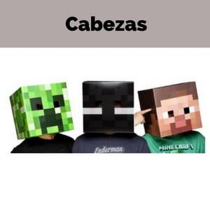 Cabezas de Minecraft