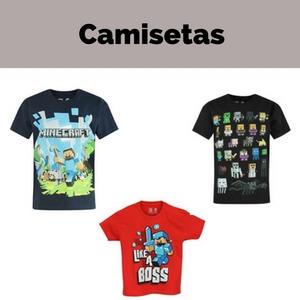 Camisetas Minecraft