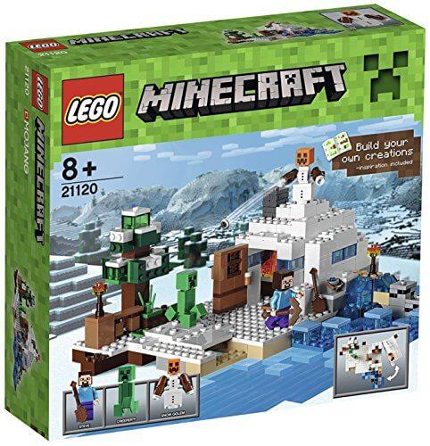lego-minecraft-guarida-de-la-nieve