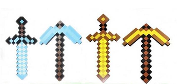 minecraft espadas variadas